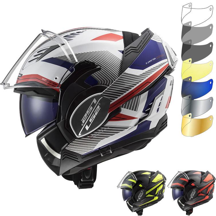 LS2 FF900 Valiant 2 Revo Flip Front Motorcycle Helmet & Visor
