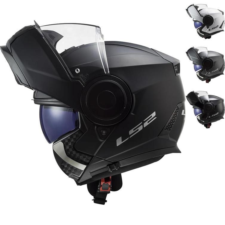 LS2 FF902 Scope Solid Flip Front Motorcycle Helmet