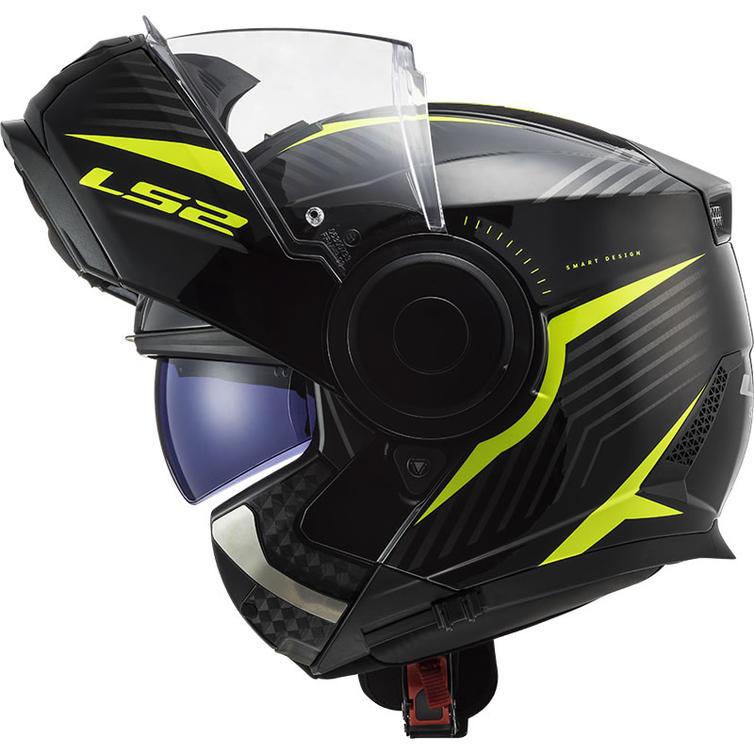 LS2 FF902 Scope Skid Flip Front Motorcycle Helmet