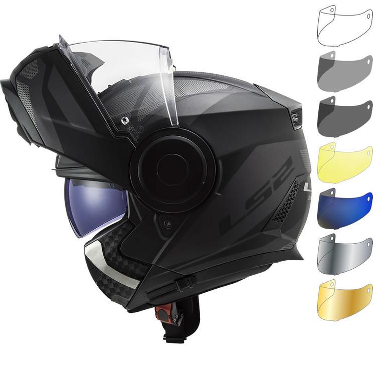 LS2 FF902 Scope Axis Flip Front Motorcycle Helmet & Visor
