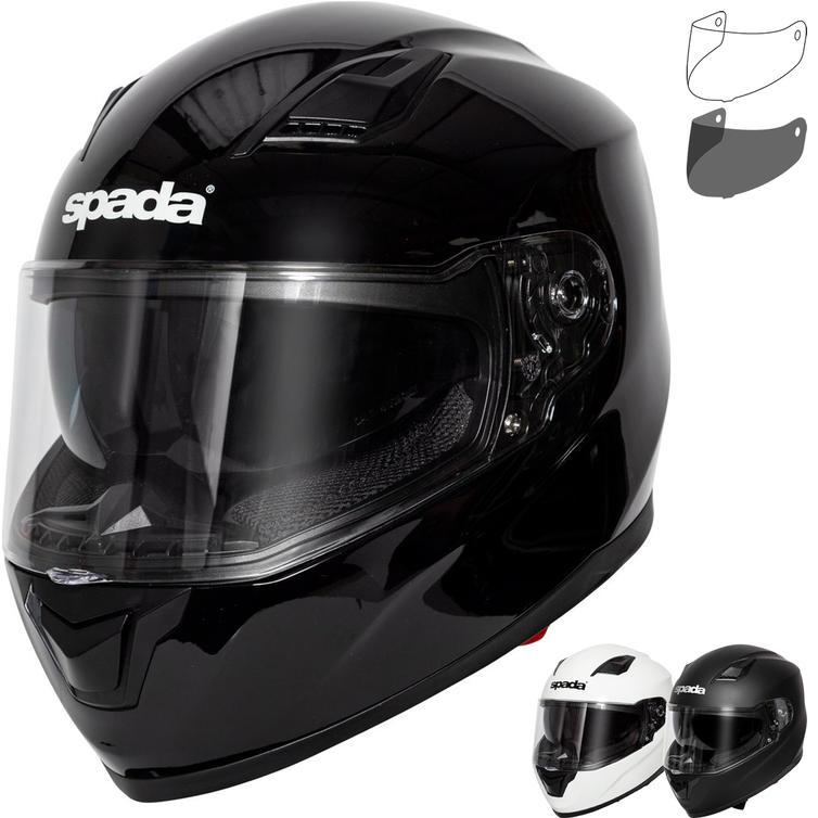 Spada SP17 Motorcycle Helmet & Visor