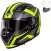 Spada SP17 Ruler Motorcycle Helmet & Visor Thumbnail 2