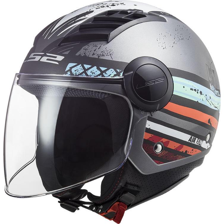 LS2 OF562 Airflow Ronnie Open Face Motorcycle Helmet