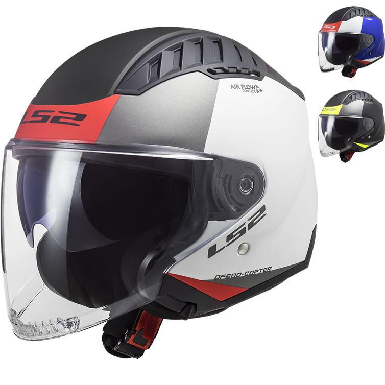 LS2 OF600 Copter Urbane Open Face Motorcycle Helmet