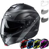 HJC C91 Taly Flip Front Motorcycle Helmet & Visor