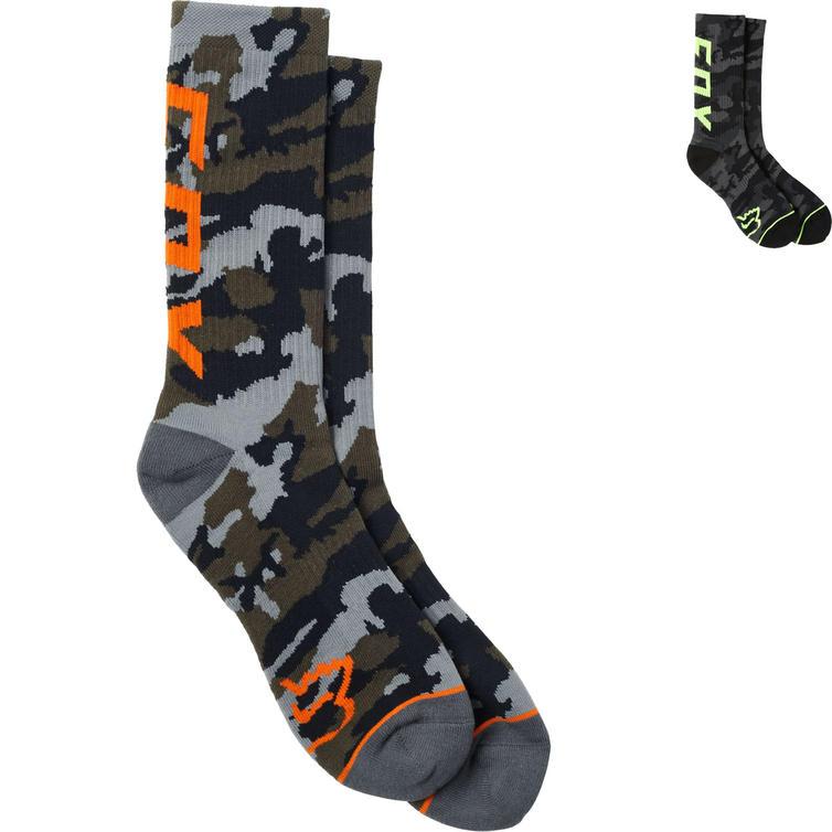 Fox Racing Camo Cushioned Crew Socks