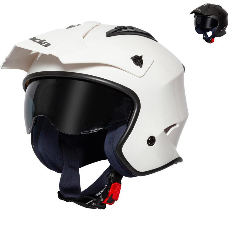 Spada Rock Open Face Motorcycle Helmet