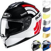 HJC C70 Curves Motorcycle Helmet & Visor