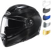 HJC F70 Carbon Motorcycle Helmet & Visor