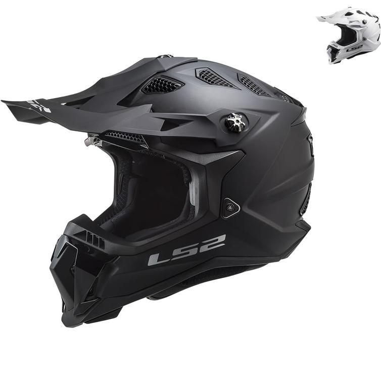 LS2 MX700 Subverter Evo Solid Motocross Helmet