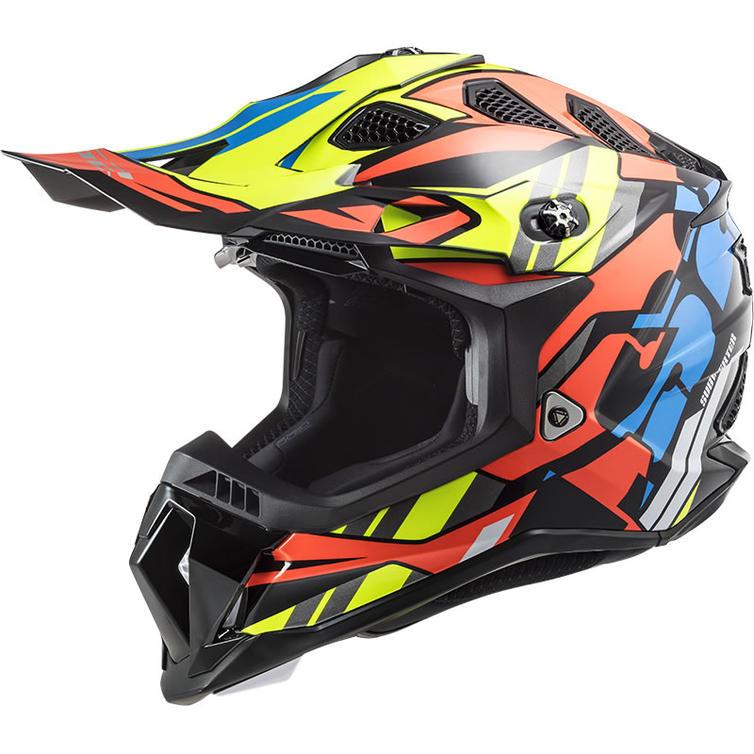 LS2 MX700 Subverter Evo Rascal Motocross Helmet