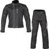 Spada Air Pro Seasons CE Motorcycle Jacket & Trousers Black Kit Thumbnail 1