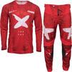 Thor Pulse HZRD Motocross Jersey & Pants Red White Kit Thumbnail 2