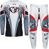 Thor Pulse 03 LE Motocross Jersey & Pants Steel Red Kit Thumbnail 3