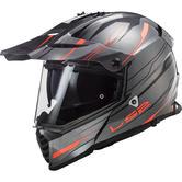 LS2 MX436 Pioneer Evo Knight Dual Sport Motorcycle Helmet