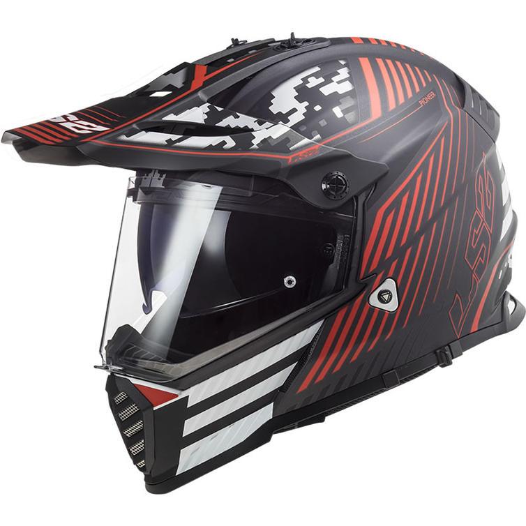 LS2 MX436 Pioneer Evo Saturn Dual Sport Motorcycle Helmet