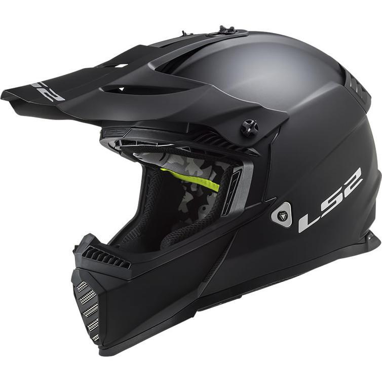 LS2 MX437 Fast Evo Solid Motocross Helmet