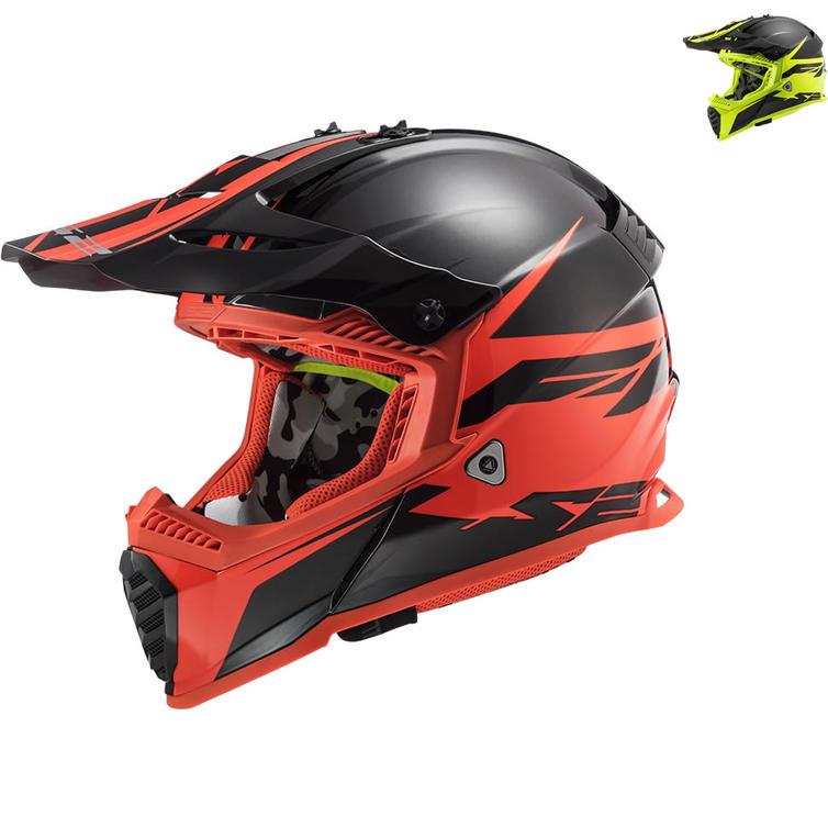 LS2 MX437 Fast Evo Roar Motocross Helmet