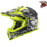 LS2 MX437 Fast Evo Crusher Motocross Helmet