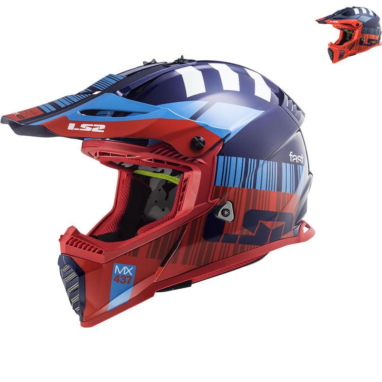LS2 MX437 Fast Evo XCode Motocross Helmet