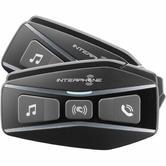 Interphone U-COM 16 Bluetooth Intercom System Twin Pack (FOR 2 HELMETS)