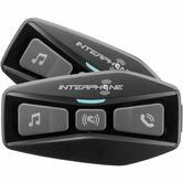 Interphone U-COM 2 Bluetooth Intercom System Twin Pack (FOR 2 HELMETS)