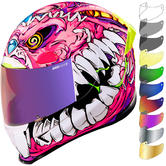 Icon Airframe Pro Beastie Bunny Motorcycle Helmet & Visor