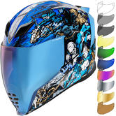 Icon Airflite 4Horsemen Motorcycle Helmet & Visor