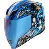 Icon Airflite 4Horsemen Motorcycle Helmet & Visor Thumbnail 4