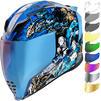Icon Airflite 4Horsemen Motorcycle Helmet & Visor Thumbnail 2