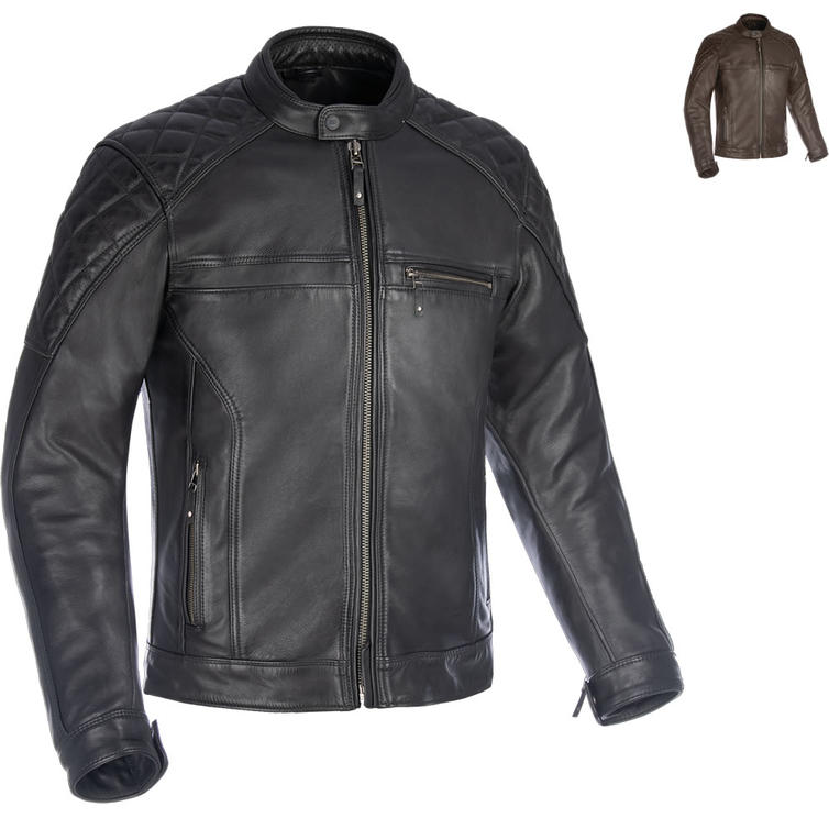 Oxford Route 73 2.0 Leather Motorcycle Jacket