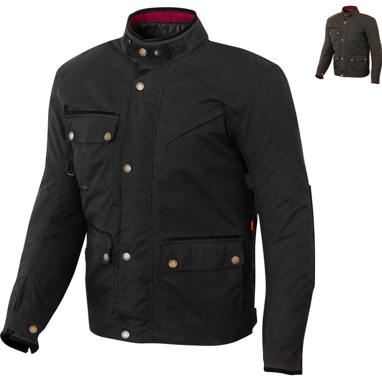 Merlin Expedition Wax Motorcycle Jacket