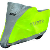 Oxford Aquatex Fluo Yellow Motorcycle Cover Large (CV222)