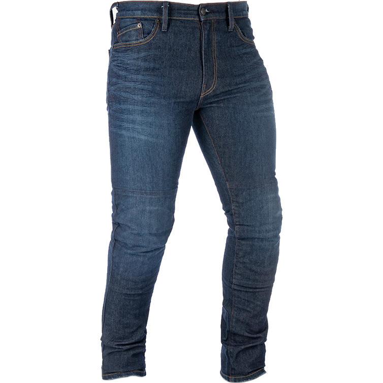 Oxford Original Approved AAA Slim Men's Motorcycle Jeans Dark Aged