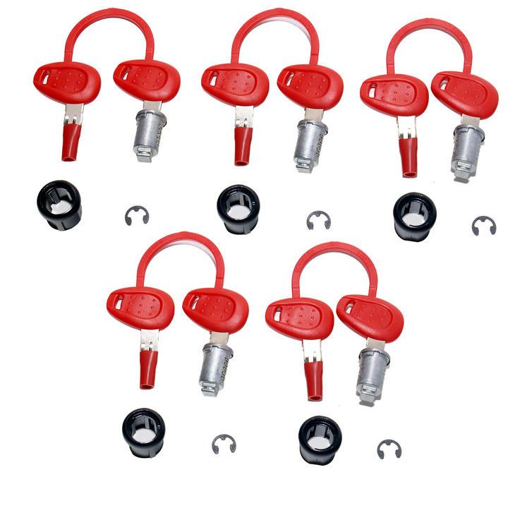 Givi Z1382 5 Case Lock Barrel Key Kit