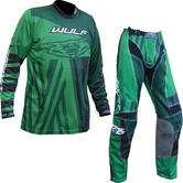 Wulf Ventuno Adult Motocross Jersey & Pants Fern Green Kit
