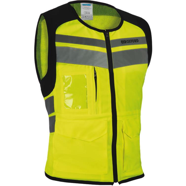 Oxford Utility Bright Hi-Vis Vest