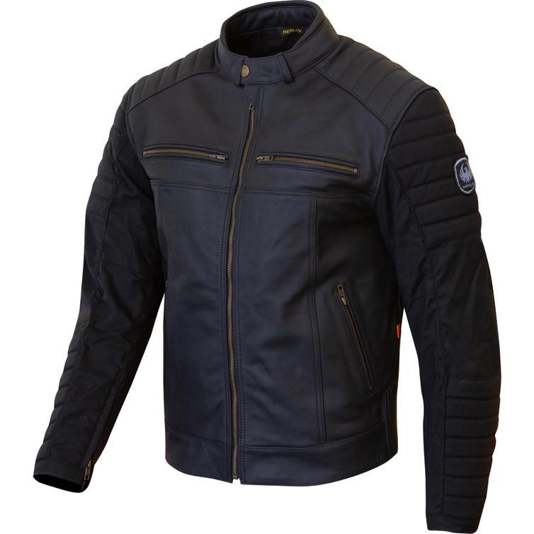 Merlin Ridge Leather Motorcycle Jacket