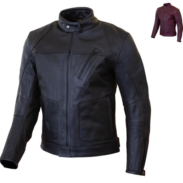 Merlin Gable Waterproof Leather Motorcycle Jacket