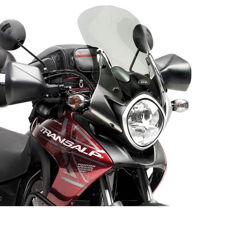Givi Motorcycle Screen Smoked - Honda XL 700V Transalp 08-12 (D313S)