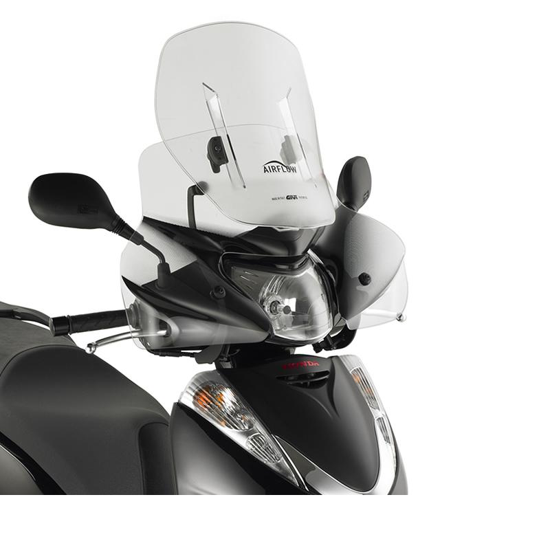 givi motorcycle sliding screen clear honda sh 300i 07 10. Black Bedroom Furniture Sets. Home Design Ideas