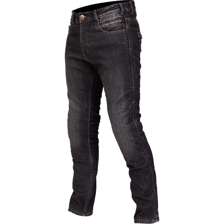 Route One Mason Waterproof Black Motorcycle Jeans