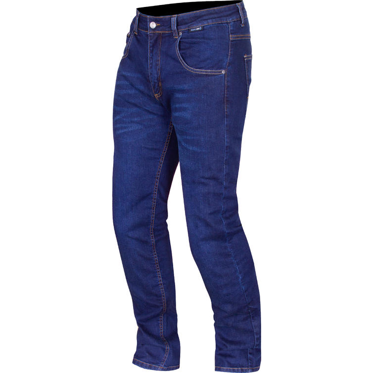 Route One Duke Water Resistant Blue Motorcycle Jeans