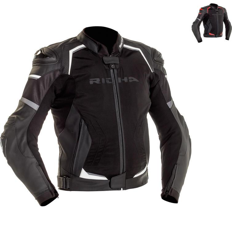 Richa Ballistic Sport Leather Motorcycle Jacket
