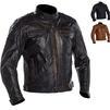 Richa Detroit Leather Motorcycle Jacket Thumbnail 1