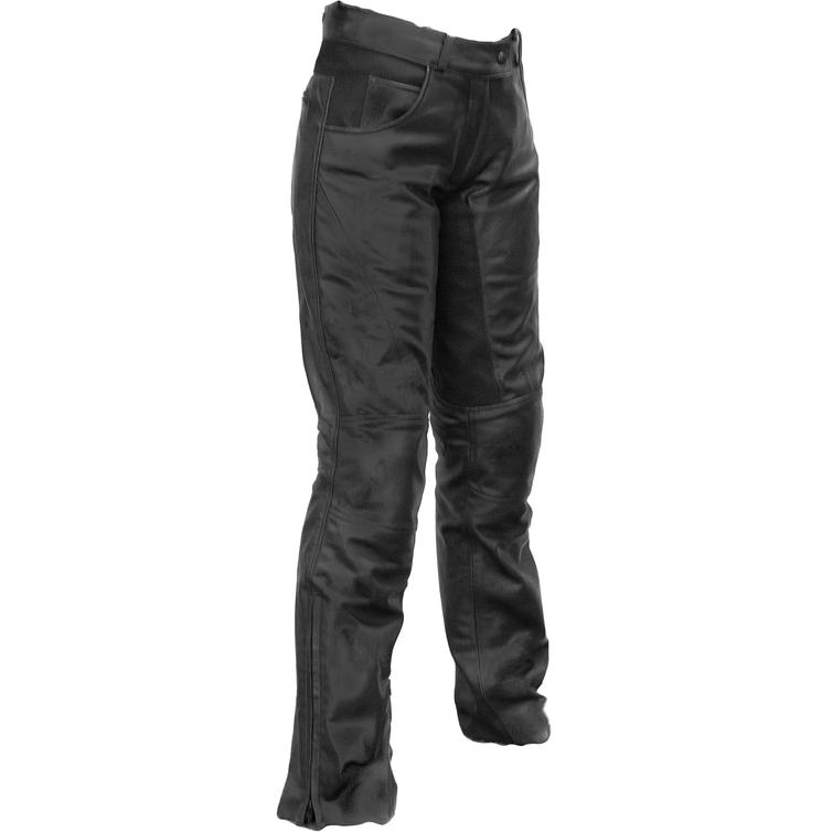 Richa Carolina Ladies Leather Motorcycle Trousers