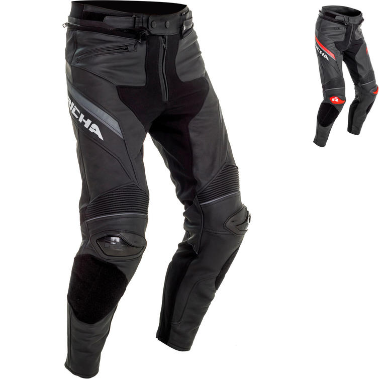 Richa Viper 2 Street Leather Motorcycle Trousers