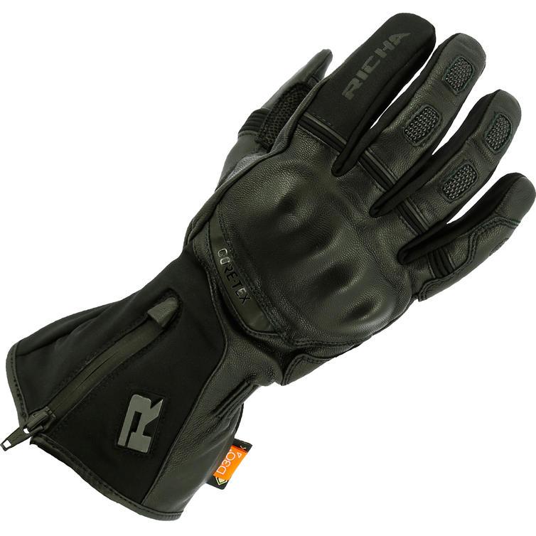 Richa Sleeve Lock Gore-Tex Leather Motorcycle Gloves