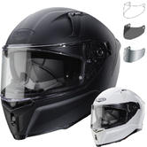 Caberg Avalon Plain Motorcycle Helmet & Visor