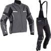 Richa Arc Gore-Tex Motorcycle Jacket & Trousers Grey Black Kit Thumbnail 1